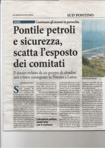 La security del pontile petroli ENi di Gaeta alla luce della Direttiva Seveso III